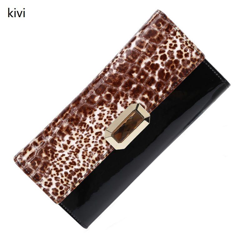кошелек женский Киви женские кошельки натуральная кожа портмоне известные бренды длинные женские кошельки люксовый бренд натуральная кож...