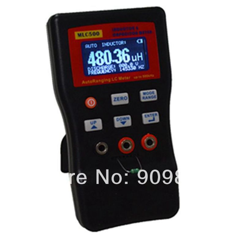 High Precision Electronic Capacitance Inductance Meter Digital Bridge LC Meter Multimeter LC RC Oscillation To 100H 100mF