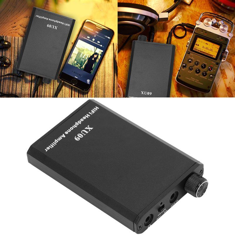 Portable Hifi Headphone Amplifier High Fidelity Digital Amp Stereo Music Amplify High Quality