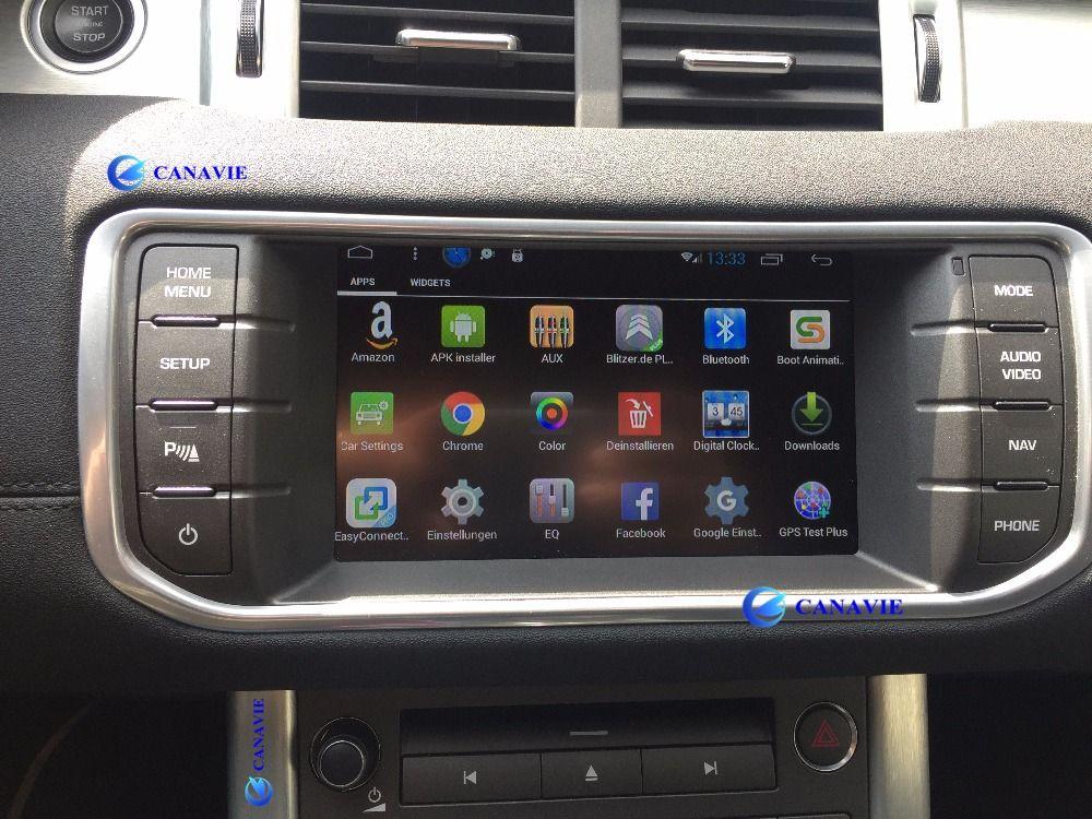 Android Auto Radio DVD GPS Navigation Zentral Multimedia für Evoque Cheryevoque Range Rover Sport HSE Freelander 4 2013 2014 2015