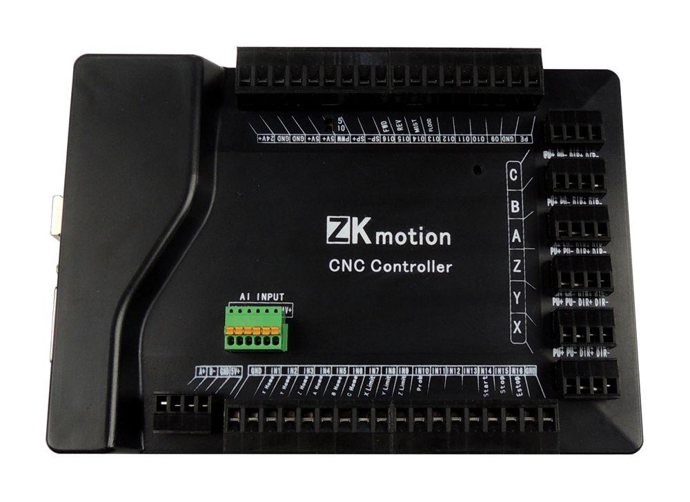High quality mach3 USB CNC 6 Axis Stepper Motor controller card Smooth Motion USB Breakout board 24V 800KHz