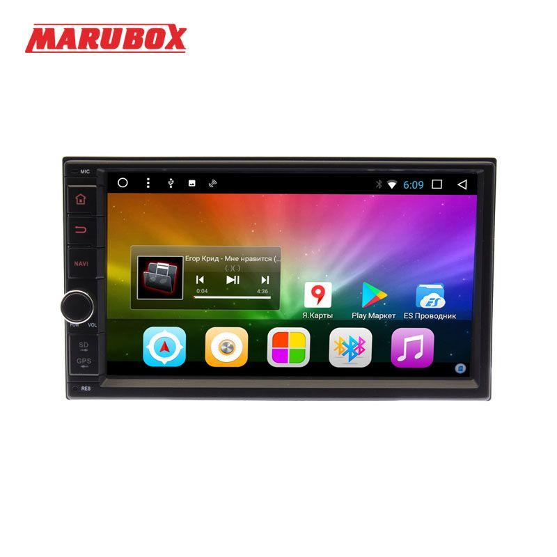 Marubox M706DT3,Car Multimedia Player, 2din, 7'' Quad Core, Android 7.1,2GB RAM,32GB ROM,GPS,Car Stereo Radio Bluetooth NO DVD