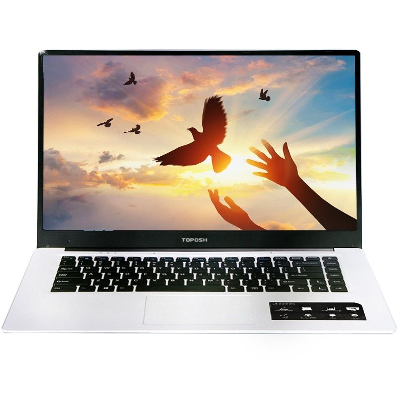 On sale(P203) 15.6 inch Intel3450 Quad Core 6GB DDR3 64GB 120GB 240GB SSD HD Screen Windows10 Ultrabook Laptop Notebook Computer