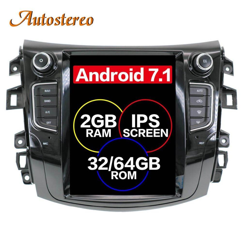 Android Tesla stil Auto GPS Navigation keine DVD-Player Für NISSAN NP300 Navara 2014 + multimedia band radio recorder kopf einheit PAD