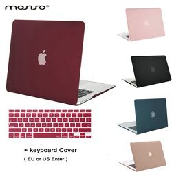 MOSISO for Apple Macbook Air 13 Plastic Hard Case Cover for Macbook Air 11 Matte Crystal Laptop Shell Cover Shell+Keyboard Cover