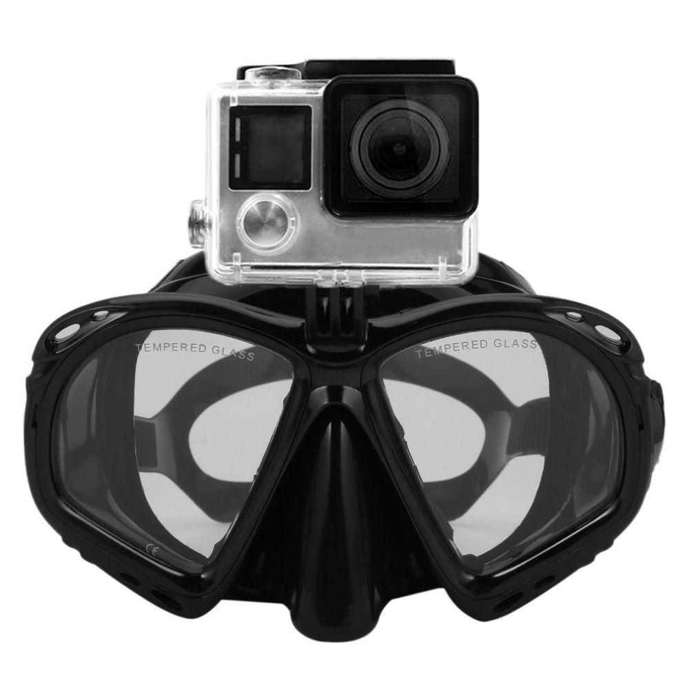 Cámara Submarina Buceo Máscara de Buceo Snorkel Gafas de Natación profesional de Alto Rendimiento Adecuado Para La Mayoría de Cámaras Deportivas