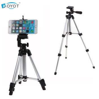 Professional Portable Foldable Camera Tripod Holder Flexible Phone Tripod Stabilizer for iPhone X 8 7 Samsung S9 S8 Mobile Phone