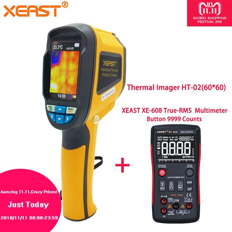 Blitz Lieferung Russische Lager XE-165 2018 Heiße Verkäufe Video Touch Thermische Imaging Kamera HT-02 Serie Thermische Imager