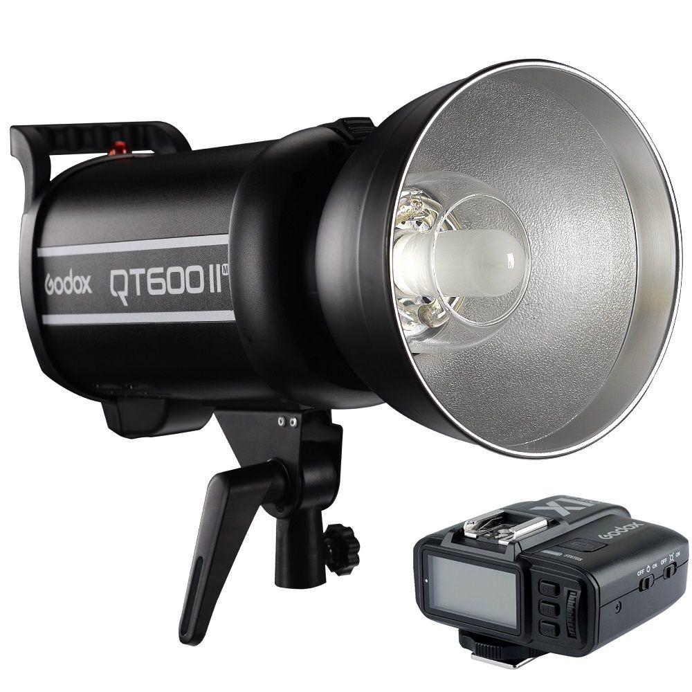 Godox QT600IIM QT600II Blitzkopf 600Ws HSS 1/8000 s High Speed Sync Blitzlicht Mit X1 Transmitter Für Sony Canon Kamera