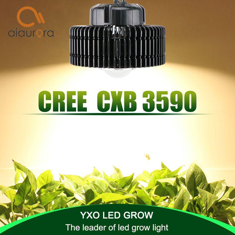 CREE CXB3590 100 W COB LED Wachsen Licht Gesamte Spektrum MeanWell Fahrer Wachsen Lampe Indoor-Anlage Wachstum Panel Beleuchtung