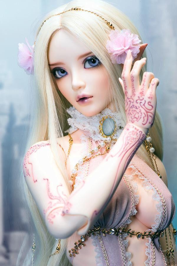 Chloe of bjd / sd doll Eye Korean doll (Presented eyes and makeup)