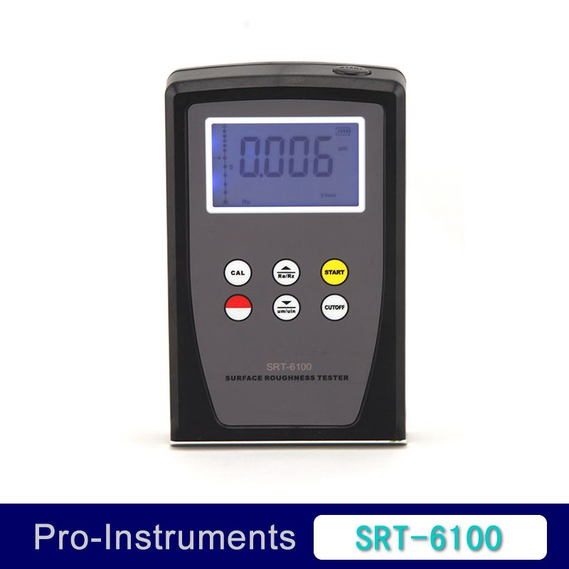 SRT-6100 Digital Surface Roughness Tester Meter Gauge Range Ra Rz  ISO DIN ANSI and JIS Standard