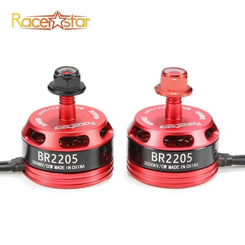Original Racerstar Racing Edition 2205 BR2205 3000KV 2-4S Brushless Motor For X180 X210 X220 FPV Racing Frame For RC Drones DIY