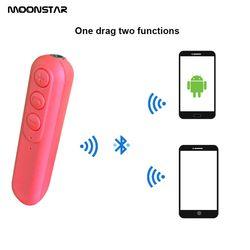 Wireless Car music receiver 3.5 mm AUX Car Bluetooth 4.2 Mp3 player Self-timer function Car Bluetooth Handsfree calls Kit