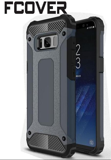 Slim Armure Pour Samsung Galaxy S5 A3 2016/A5 2016/A7 2016 Cas Hybride Difficile En Fiber De Carbone Antichoc dur de Couverture Arrière