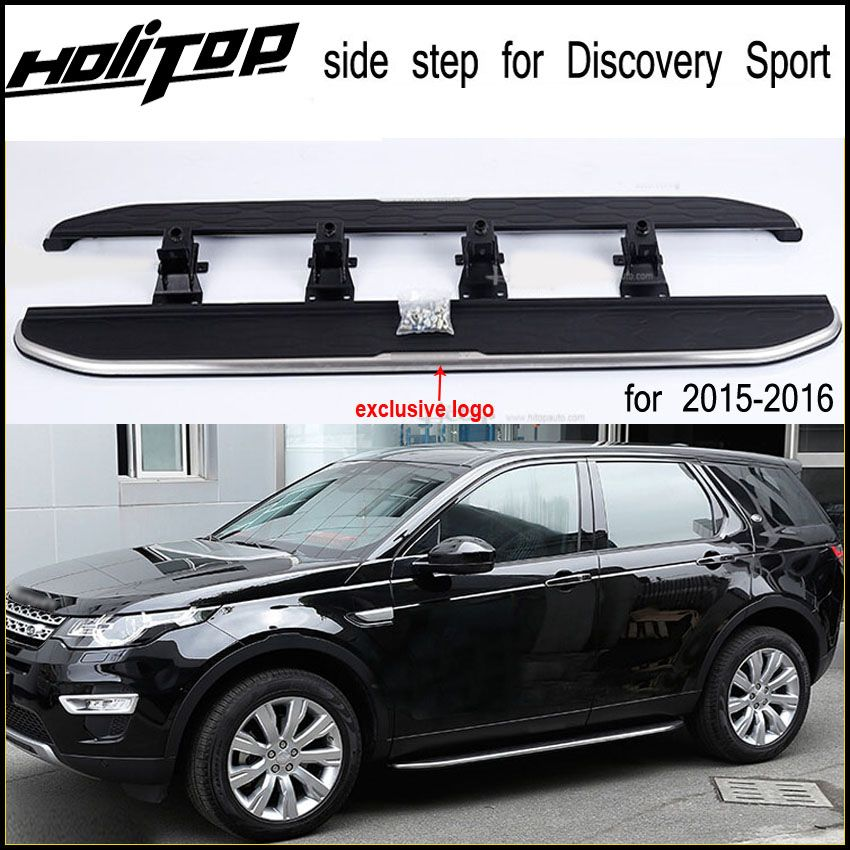 Match for Discovery sport Original side bar/side step/foot step/running board,guarantee quality,aluminum.fit for 2015-2017