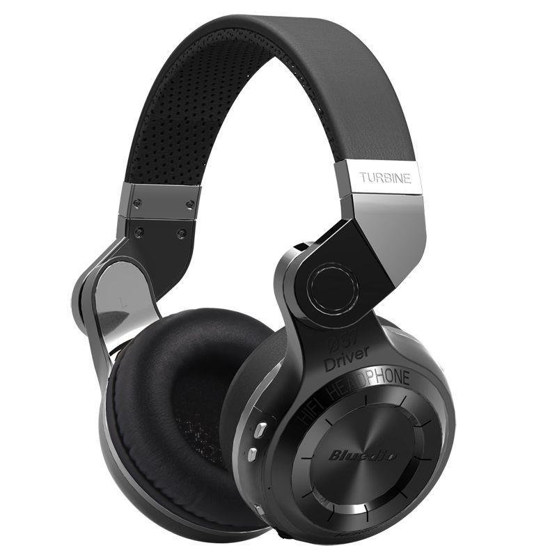 Оригинальный Bluedio T2 bluetooth стерео наушники беспроводные Bluetooth 4.1 Гарнитура hurrican серии на ухо наушников
