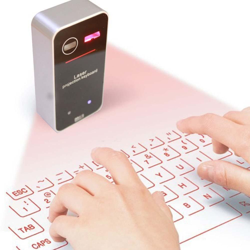 Portable Virtual Laser Keyboard Bluetooth Keyboard Virtual Keyboard With Mouse function For Tablet Computer keyboard