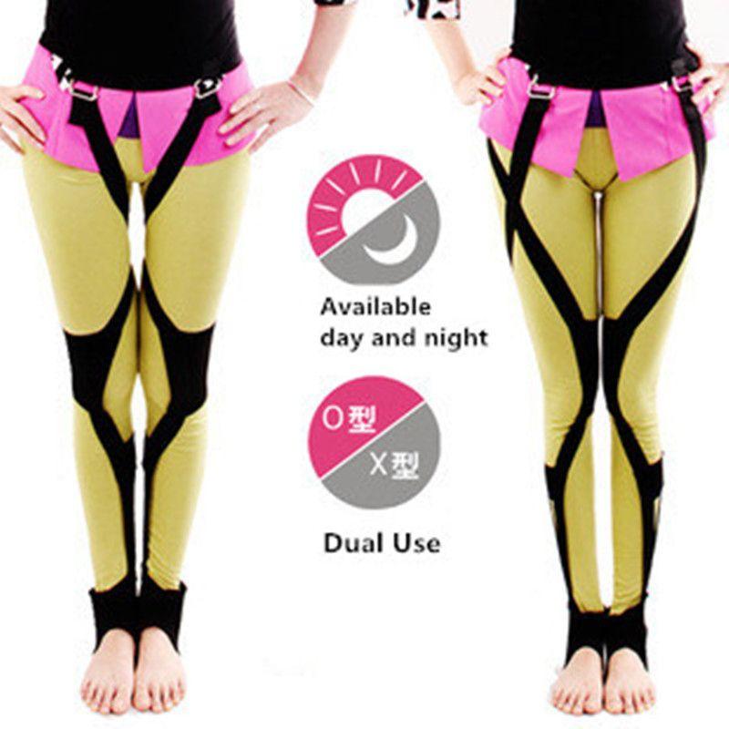 Dual Mode O/X-type Leg Correction Bowlegs Leggings Hip O Leg Orthotics Corrector Health Care Day and Night Use T255
