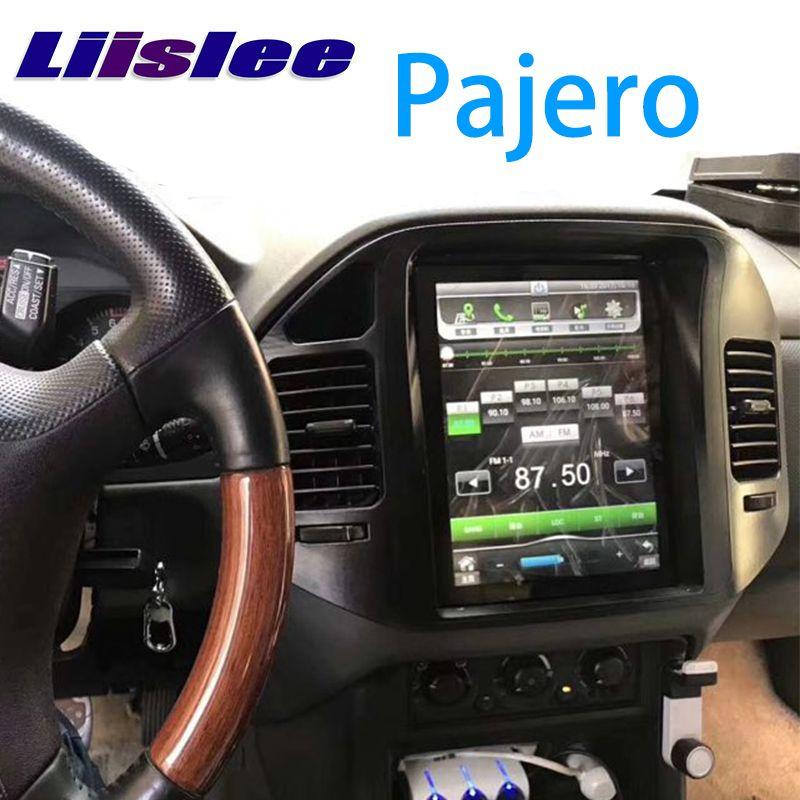 LiisLee Auto Multimedia DVD GPS HiFi Audio Radio Stereo Für Mitsubishi Pajero V60 V73 1999 ~ 2006 Original Stil Navigation NAVI