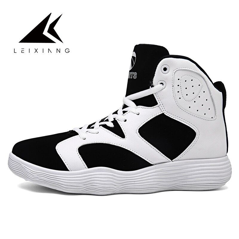 2017 Men's Basketball Shoes Rubber Basketball Boots Shock Absorption Jogging Shoes Athletic Sport Sneakers For Basketball