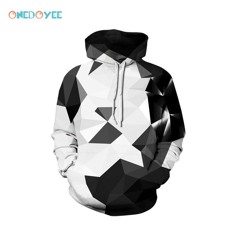Onedoyee Men Hoodies Sweatshirts 3D Printed Hip Hop Hoodies Novelty Streetwear Hooded Autumn Skateboard Hoodie Male Tracksuits