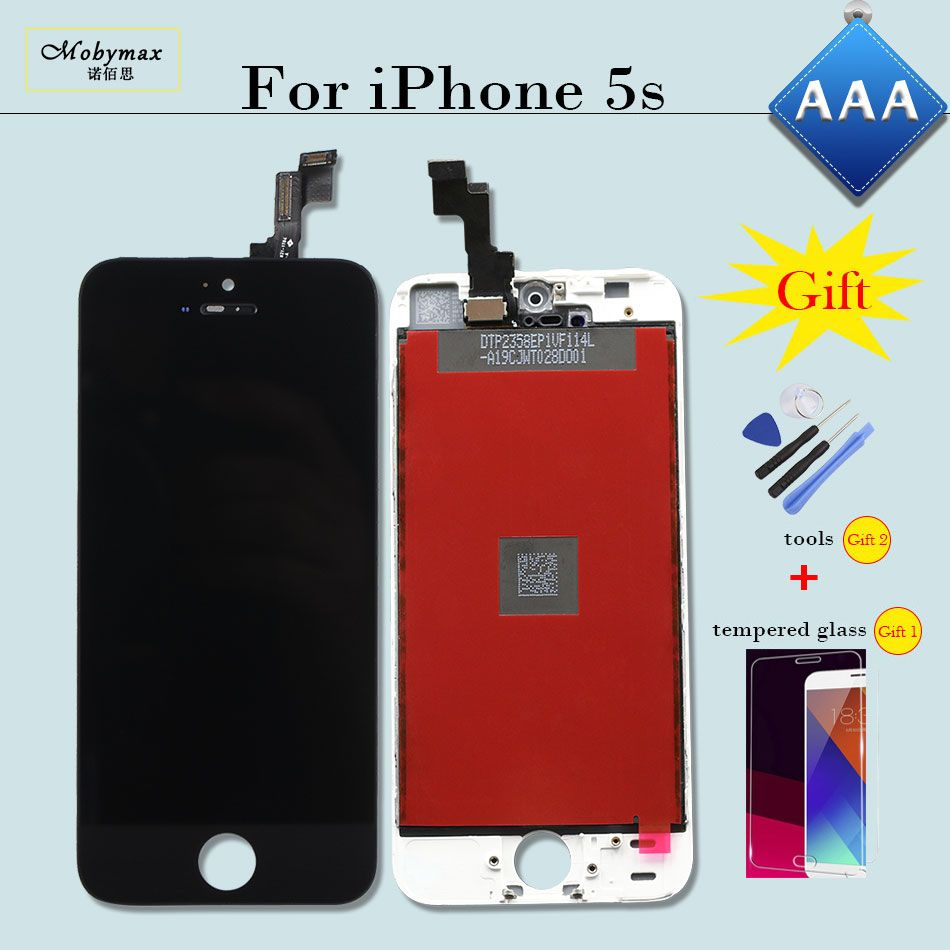 AAA Pantalla for iPhone 5 5S LCD Display Screen Replacement Touch Digitizer Assembly 5C SE Ecran Repuestos for iPhone 6 LCD