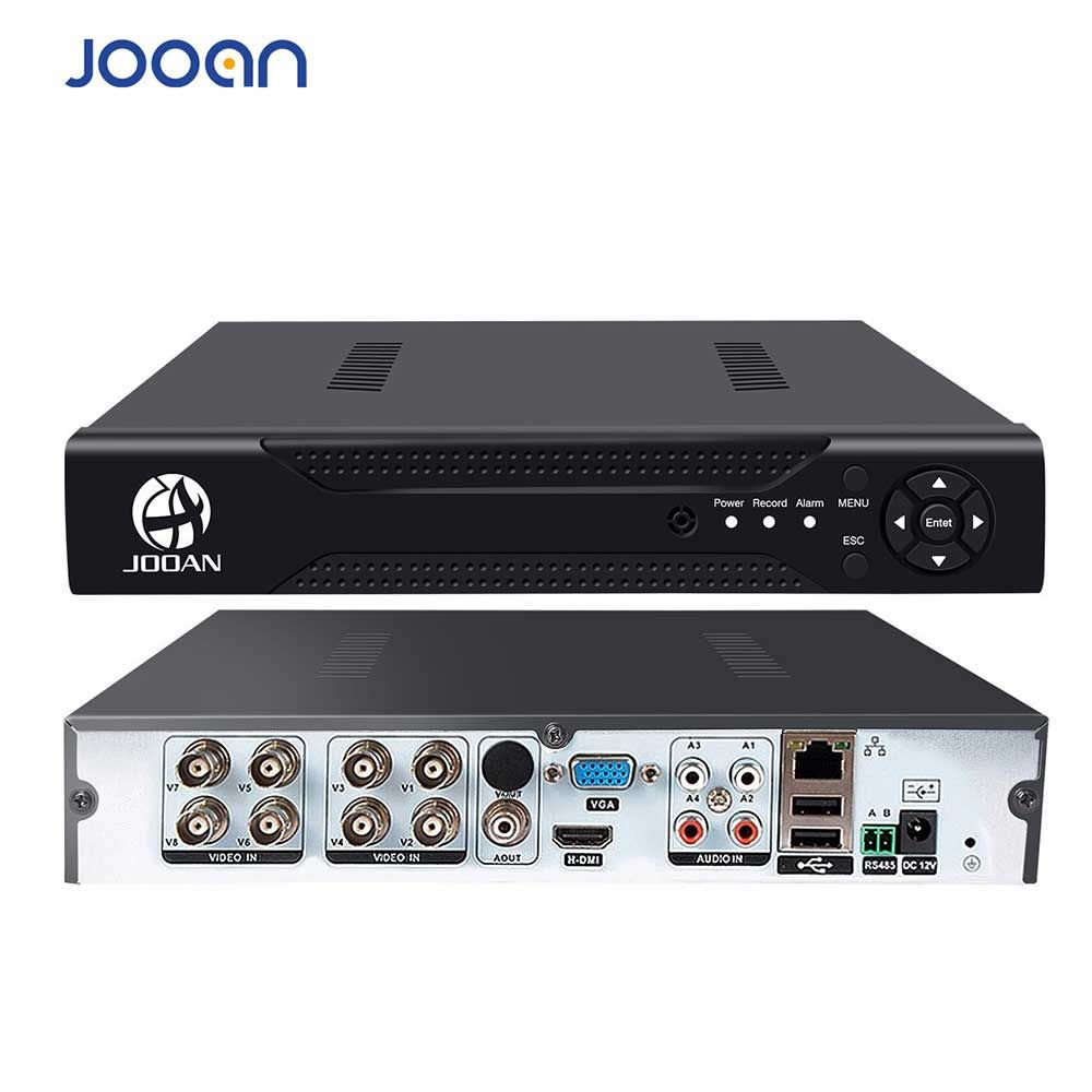 JOOAN 8CH 1080N CCTV AHD DVR QR Code Scan accès rapide, Smartphone, PC accès facile à distance enregistreur vidéo numérique h.264