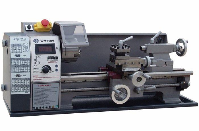 110V/220V Small mini Household Lathe WM210V Mini Lathe Machine Tool 600W Stepless Speed Regulation