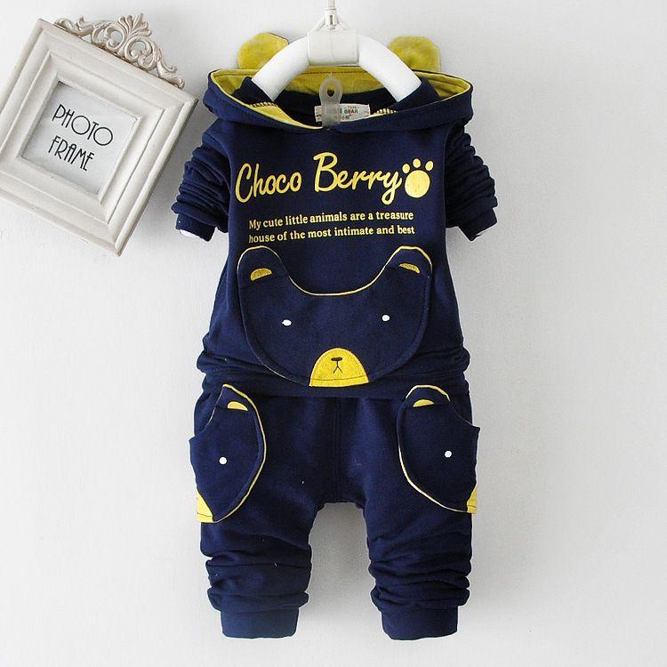 Anlencool 0-1-2-3 ans garçon printemps 2019 nouveau printemps à manches pull costume enfants bébé vêtements offres spéciales bébé vêtements ensemble