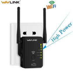 Wavlink высокое Мощность Беспроводной WI-FI ретранслятор точка доступа маршрутизатора AP N300 WI-FI расширитель диапазона Кнопка WPS с 2 внешними антен...