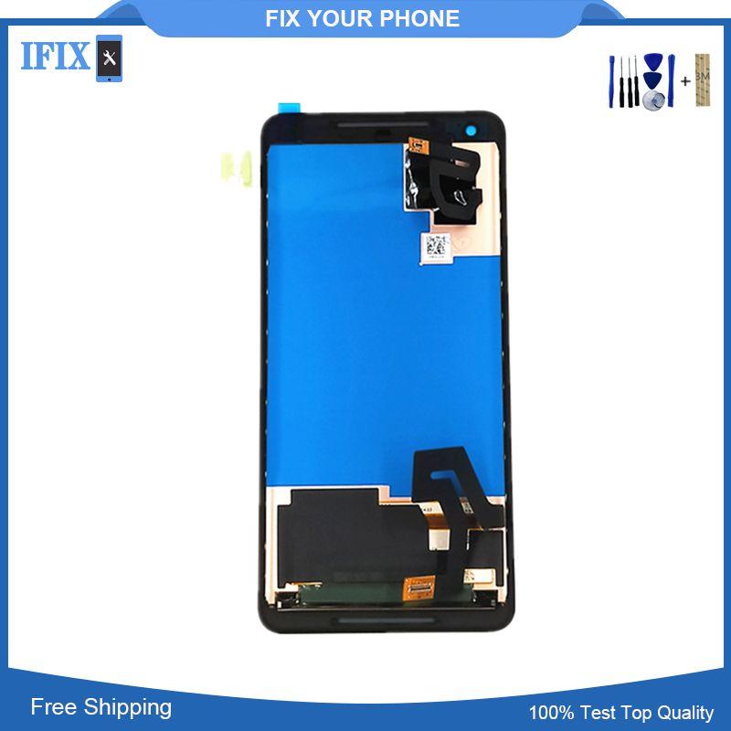 6 zoll Original Für HTC Google Pixel 2 XL LCD Display mit Touchscreen Digitizer Assembly für HTC Google Nexus Pixel 2 XL