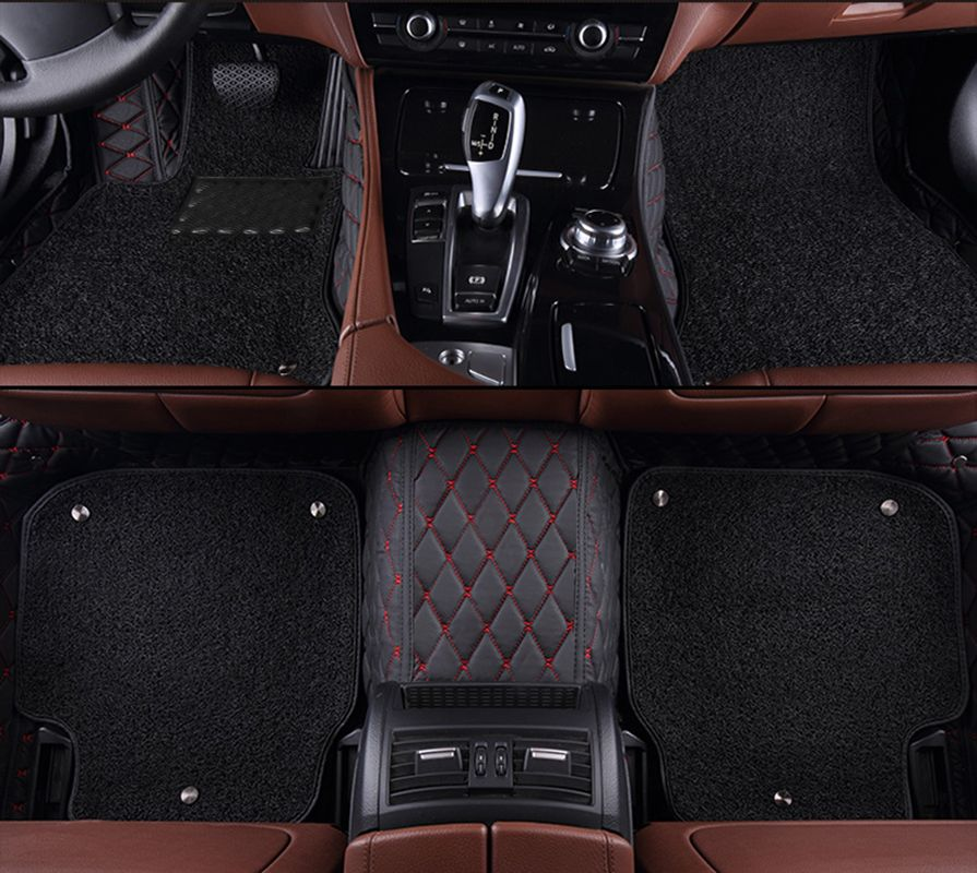 kalaisike Custom car floor mats for Infiniti all models QX70 Q70L QX50 QX60 Q50 Q60 FX EX JX G M QX50 QX56 QX80 car styling