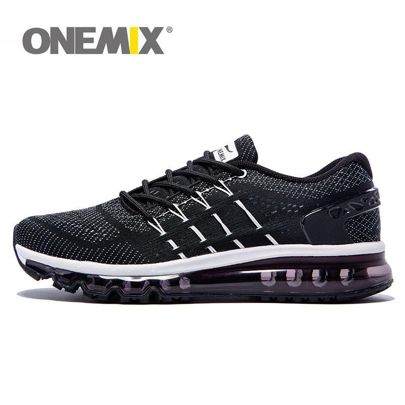ONEMIX Unisex Einzigartige Schuhe Zunge Laufschuhe Männer Atmungsaktive Air-mesh Sport Trainer Weiblich Athletisch Freien Turnschuhe