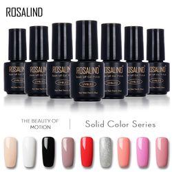 ROSALIND 7 ML gel laque 58 Pur Couleurs Vernis Nail Art Vernis UV LED Semi Permanent Soak-Off Gel Vernis À ongles