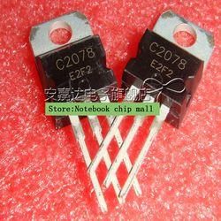 Gratis pengiriman 5 pcs/lot NPN transistor, 27 Produk MHz RF amplifier 2SC2078 C2078 TO-220 asli