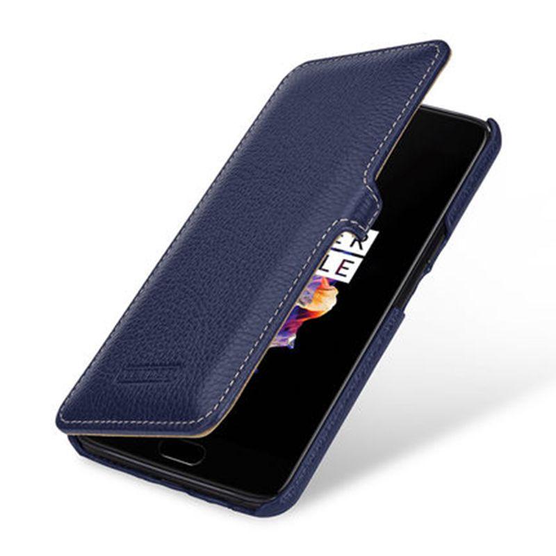 Oneplus 5 Fall Luxus Echtes Leder-kasten für Eins plus 5 stoßfest Flip-cover-telefonkasten für Oneplus 5 A5000 Oneplus5 Coque