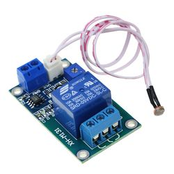 XH-M131 DC 5V Light Control Switch Photoresistor Relay Module Detection Sensor 10A brightness Automatic Control Module