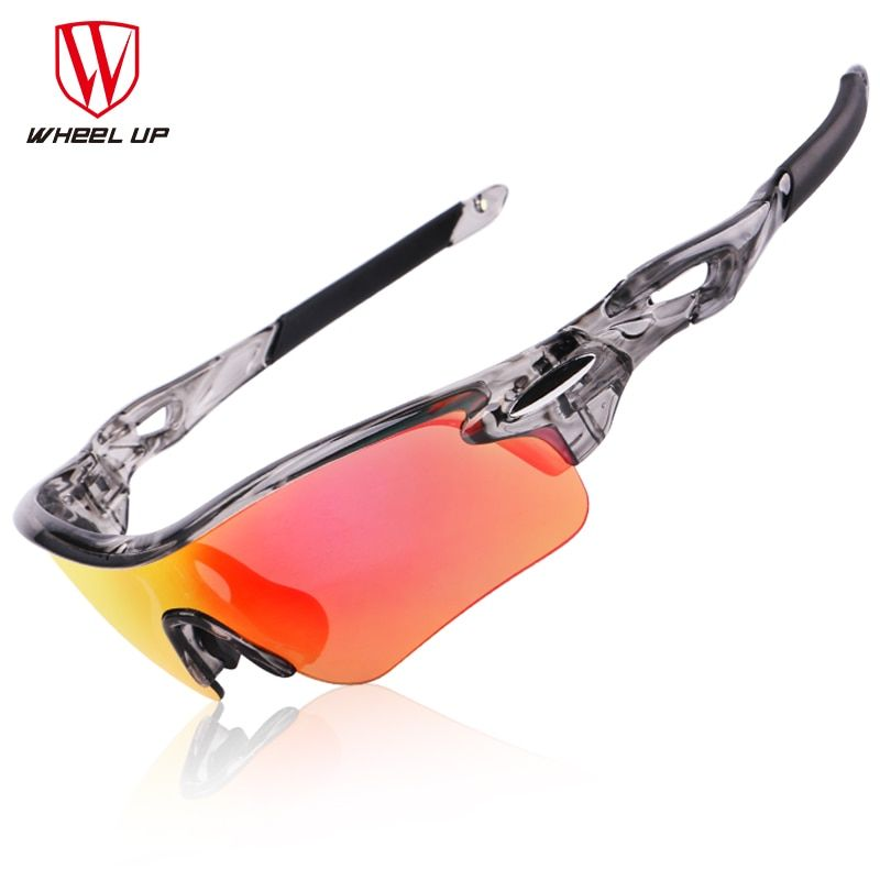 <font><b>WHEEL</b></font> UP HD Polarized Cycling Glasses Coating Outdoor Sports Goggles Waterproof UV400 3 Colors Riding Driving Bicycle Eyewear