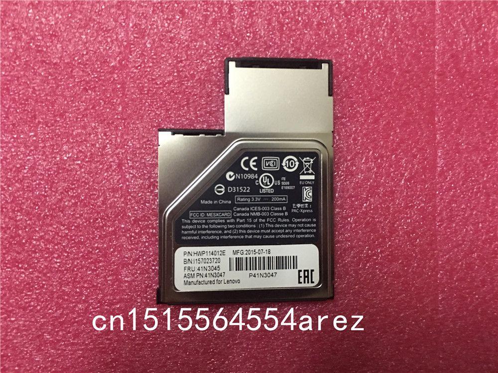 New Original laptop Lenovo Thinkpad X220 X230 X220T X230T L530 L520 L430 L421 Smart card reader Express Card 41N3045 41N3047