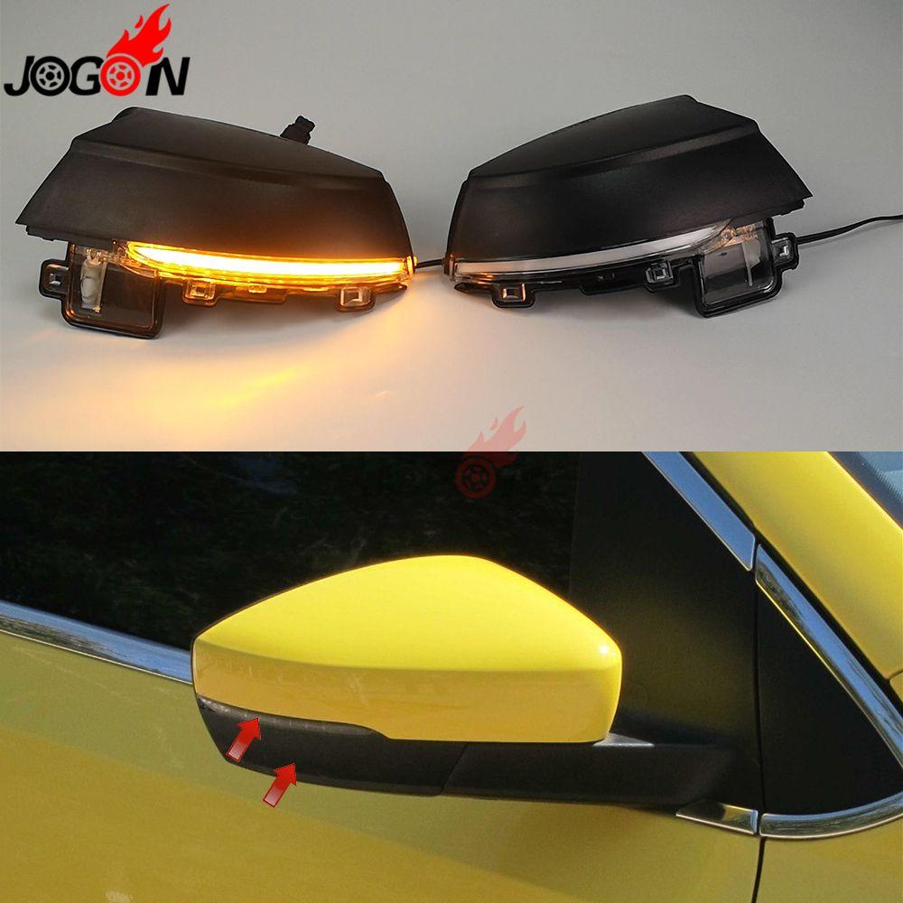 Für Volkswagen VW POLO MK5 6R 6C 2009-2013 2014 2015 2016 2017 Dynamische LED Blinker Licht Seite flügel Spiegel Anzeige Blinker