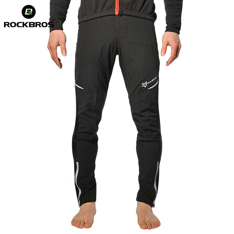 ROCKBROS Windproof Cycling Pants Outdoor Sports Thermal Running Hiking Camping Fishing Biking Fitness Trousers For Men Woman