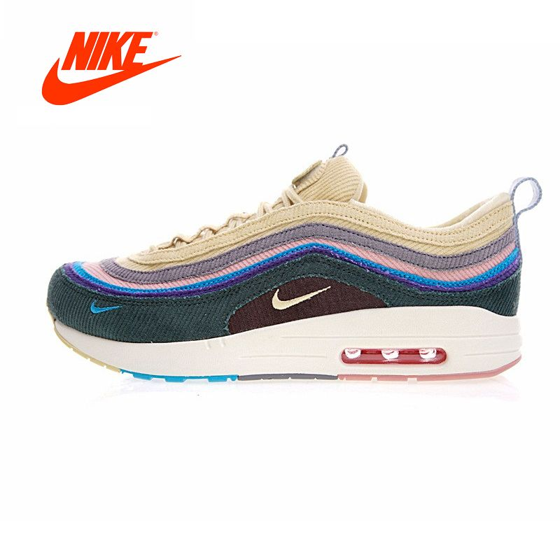 Original New Arrival Authentic Nike Air Max 1/97 VF SW Mens Running Shoes Sneakers Outdoor Walking Jogging Sneakers Comfortable