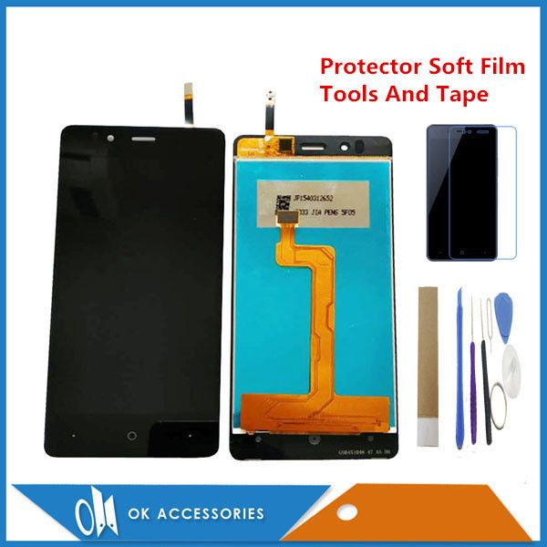 4.7 Inch For Highscreen Ice 2 Ice2 LCD Display+Touch Screen Sensor Glass Digtizer Assembly With Protector Soft Film Tools Tape