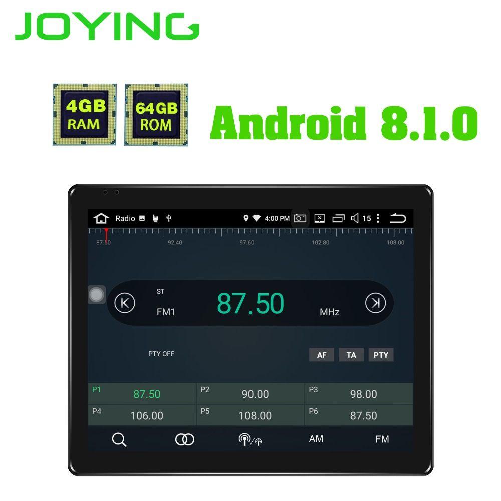 Neueste 2 Din Auto Radio Audio Stereo GPS Navigation 9,7 Android 8.1 Universal Kopf Einheit DVD Multimedia Player band recorder