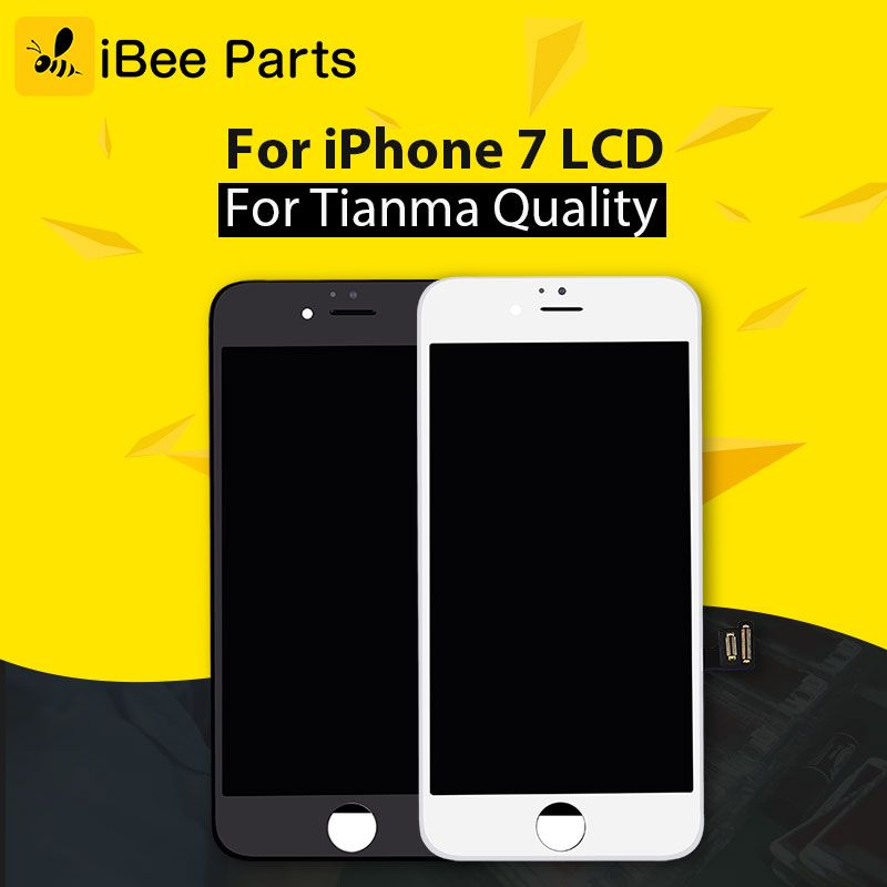 iBee Parts 10PCS 100% Guarantee Tianma For iPhone 7 LCD Touch Display AAA 4.7 inch LCD Screen Glass Assembly
