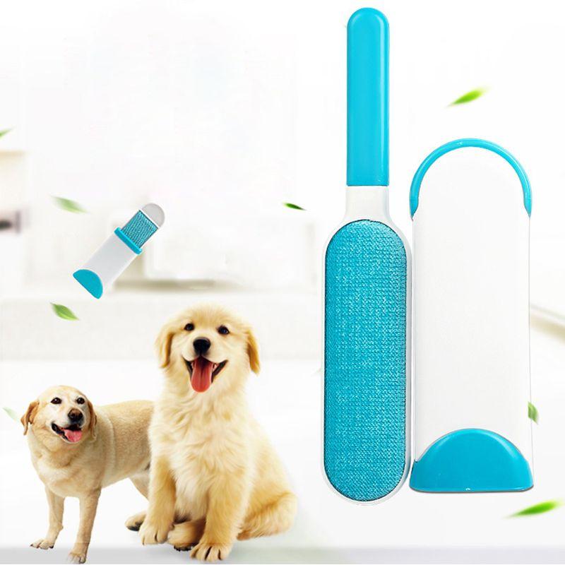 3 pièces/ensemble brosse à épiler pour animaux de compagnie rapide démaquillant vêtements brosse chien pâte à cheveux dispositif de nettoyage brosse outil esthéticienne pour animaux de compagnie