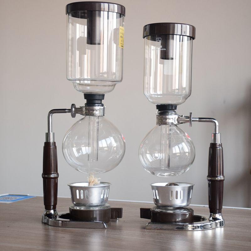 New Arrival High Quality Janpanese Style Coffee Syphon Maker Barista Tool Tea Syphon 300ML 500ML