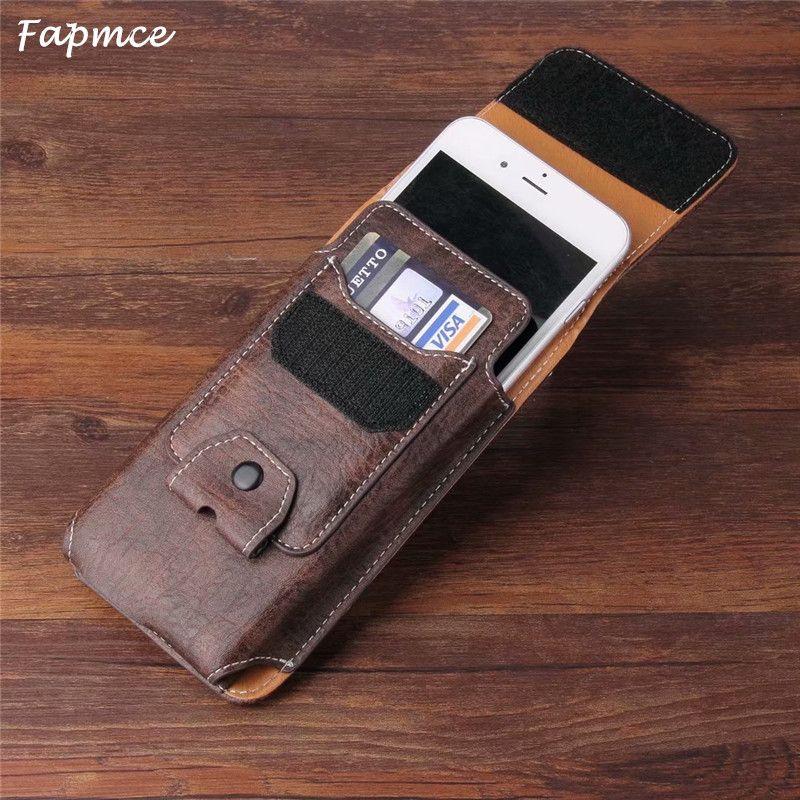 Etui universel pour téléphone avec Clip ceinture en cuir pour chat S61 S41 S31 S60 S50c S30 S40 S50 B15Q B100 avec fentes pour cartes