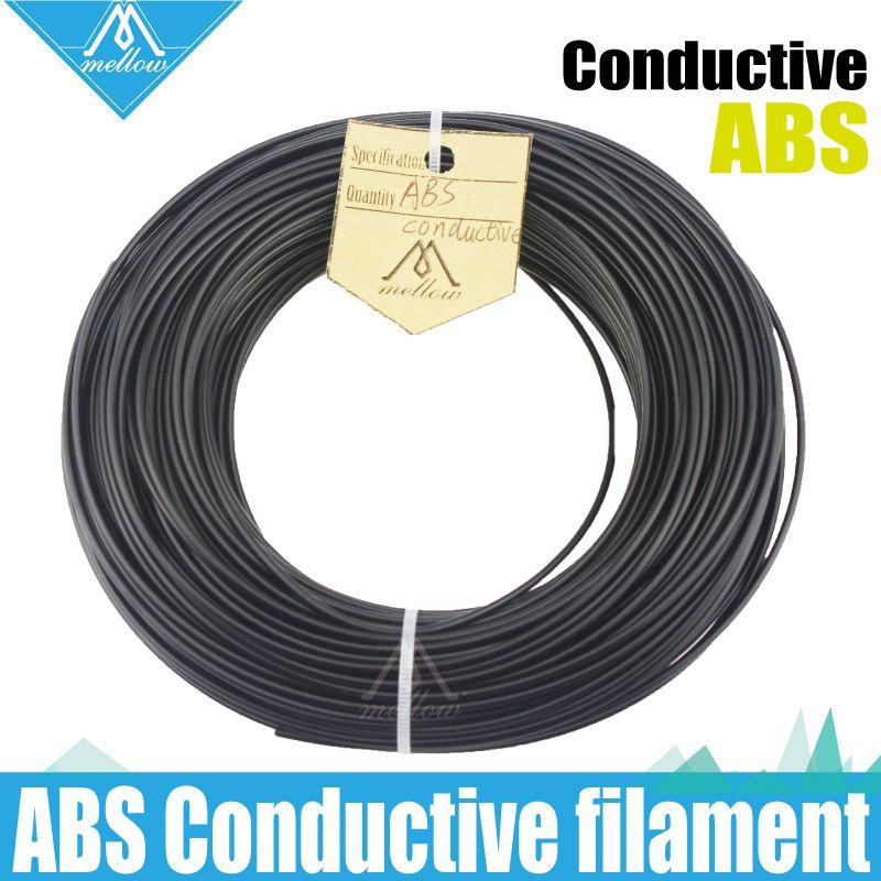 100g 3D Printer Conductive ABS Filament 1.75mm RepRap/Makerbot /Ultimaker/Mendel/kossel/creatbot,etc Sales 3D PEN